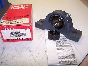 "high temperature  REXNORD LINK BELT PL3W210E PILLOW BLOCK BEARING 5/8"" BORE 2 BOLT"