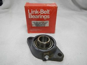 high temperature Rexnord Corp. Link-Belt Bearing Division Flange Ball Bearing FX3-U218N