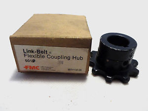 high temperature  IN BOX FMC LINK-BELT FLEXIBLE COUPLING HUB 5010
