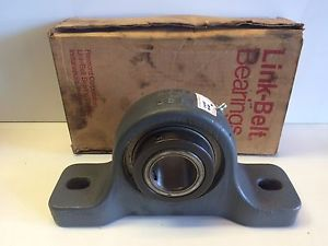 "high temperature  OLD STOCK IN BOX LINK-BELT 1-11/16"" HEAVY DUTY PILLOW BLOCK BEARING P2-327"