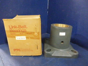 "high temperature Link-Belt F2263Z 3-15/16"" Mounted Bronze Sleeve Bearing Square Flange Block"