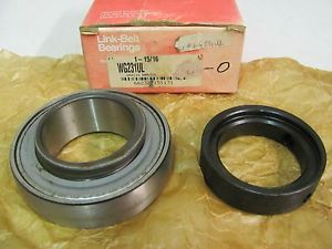 high temperature Link-Belt/Rexnord WG231UL(GRA115) Bearing and Collar, New