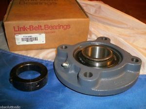 high temperature LINK BELT FC3Y226N PILOTED FLANGE BEARING 1-5/8""