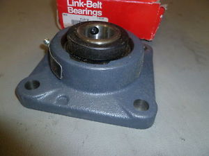 high temperature LINK BELT FLANGE BEARING FU319 ~ New in box