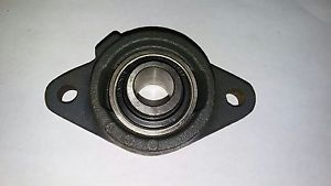 high temperature REXNORD BY409406 2 BOLT FLANGED LINK-BELT BEARING 11/16 HE