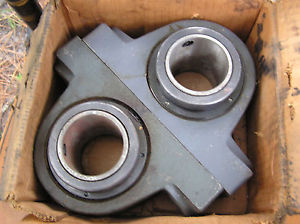 "high temperature TWO Link-Belt FMC Sperical Roller Bearings 2 1/4"" Ditch Witch NOS Made USA"