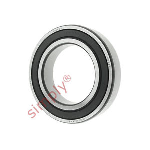high temperature FAG 60092RSRC3 Rubber Sealed Deep Groove Ball Bearing 45x75x16mm