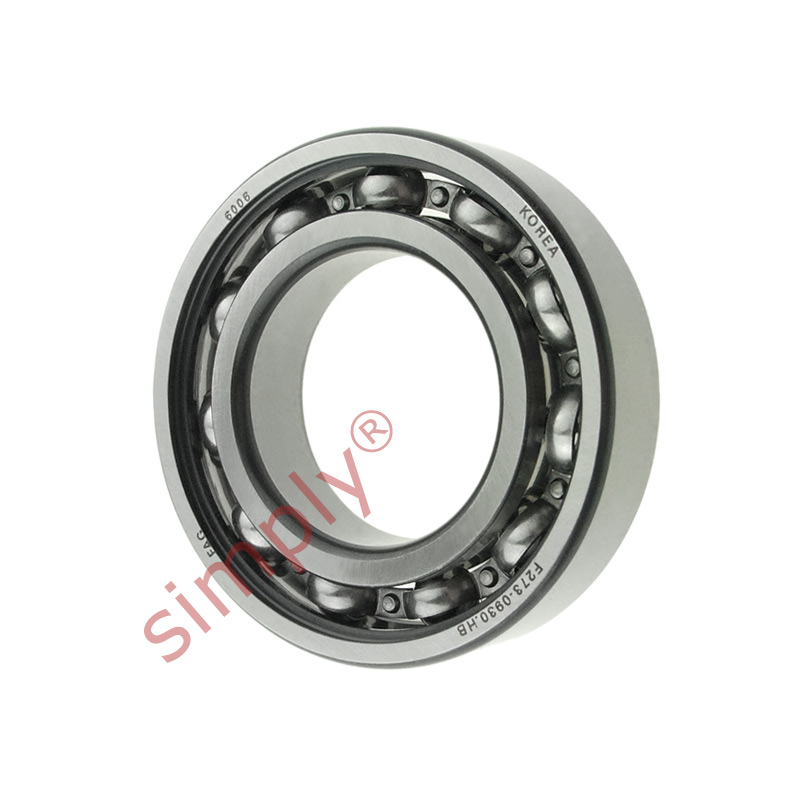 high temperature FAG 6006 Open Deep Groove Ball Bearing 30x55x13mm
