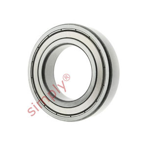 high temperature FAG 60072ZC3 Metal Shielded Deep Groove Ball Bearing 35x62x14mm