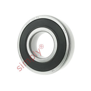 high temperature FAG 63072RSRC3 Rubber Sealed Deep Groove Ball Bearing 35x80x21mm