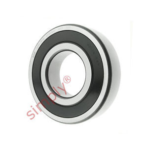 high temperature FAG 63102RSR Rubber Sealed Deep Groove Ball Bearing 50x110x27mm