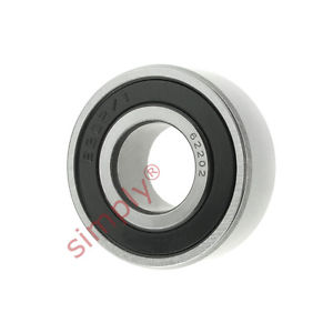 high temperature FAG 622022RSR Rubber Sealed Deep Groove Ball Bearing 15x35x14mm