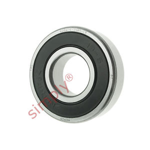 high temperature FAG 62042RSRC3 Rubber Sealed Deep Groove Ball Bearing 20x47x14mm