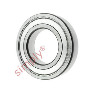 high temperature FAG 62092Z Metal Shielded Deep Groove Ball Bearing 45x85x19mm