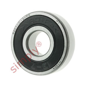 high temperature FAG 62012RSR Rubber Sealed Deep Groove Ball Bearing 12x32x10mm