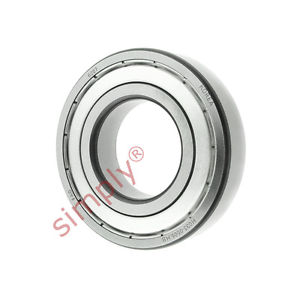 high temperature FAG 62072Z Metal Shielded Deep Groove Ball Bearing 35x72x17mm