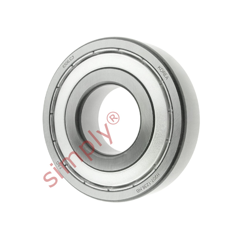 high temperature FAG 63062ZC3 Metal Shielded Deep Groove Ball Bearing 30x72x19mm