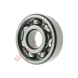 high temperature FAG 6303C3 Open Deep Groove Ball Bearing 17x47x14mm