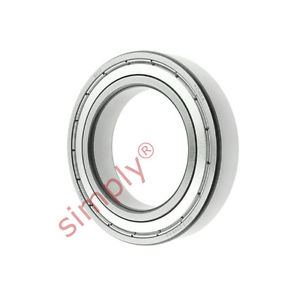 high temperature FAG 60102Z Metal Shielded Deep Groove Ball Bearing 50x80x16mm