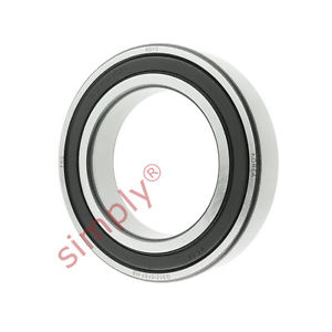 high temperature FAG 60102RSR Rubber Sealed Deep Groove Ball Bearing 50x80x16mm