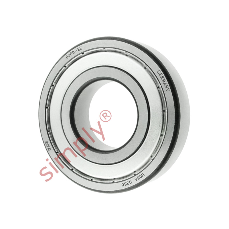 high temperature FAG 63082Z Metal Shielded Deep Groove Ball Bearing 40x90x23mm