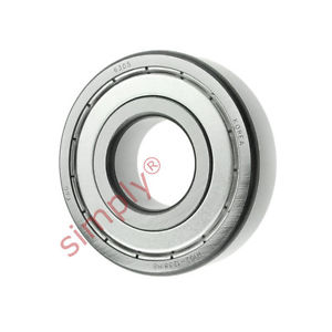 high temperature FAG 63052Z Metal Shielded Deep Groove Ball Bearing 25x62x17mm
