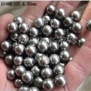 "high temperature 100 pcs Dia/Diameter 100x 1/4"" 6.35 mm bearing balls Carbon steel ball Stainless"