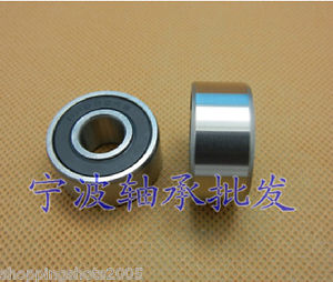high temperature 2 pcs 63001 RS Deep Groove Ball Bearing 12X28x12 12*28*12 mm bearings 63001RS