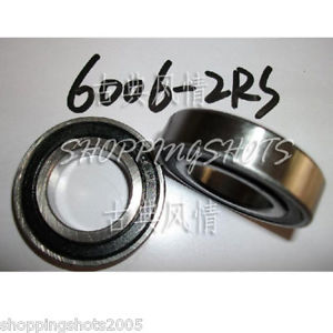 high temperature 10pcs) 6006-2RS RS Deep Groove Ball Bearing ABEC1 30x55x13 6006RS 30*55*13 ABEC1