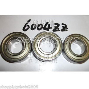 high temperature (50) 6004-2Z ZZ Deep Groove Ball Bearing ABEC1 20x42x12 mm 20*42*12 6004Z 6004ZZ