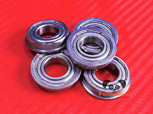 high temperature [10PC] SF689zz (9x17x5 mm) Stainless Flanged Ball Bearing Bearings F689zz 9*17*5