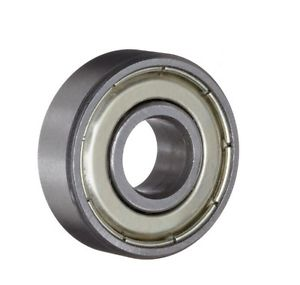 high temperature Miniature Ball Bearings Single Shielded Deep Groove 608Z Stainless Steel 2 Pcs