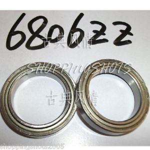high temperature 10pcs thin 6806-2Z 6806 ZZ bearings Ball Bearing 6806ZZ 30X42X7 30*42*7 mm 6806
