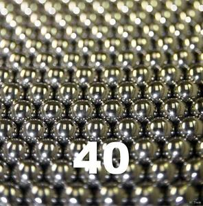 """high temperature 40 1/2"""" Inch G25 Precision 420 Stainless Steel Bearing Balls"""