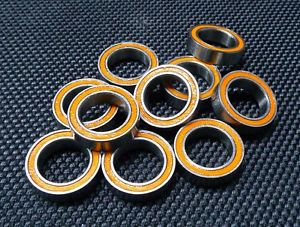 high temperature ABEC-7 [1 PCS] SMR148-2RS (8x14x4 mm) 440c Stainless Steel CERAMIC Ball Bearing