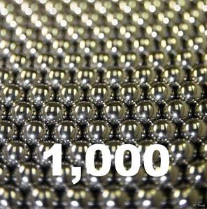 """high temperature 1000 3/32"""" Inch G25 Precision 440 Stainless Steel Bearing Balls"""