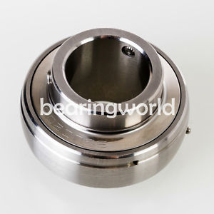 """high temperature  High Quality SUC205-16  1"""" Stainless Steel Set Screw Insert Bearing"""