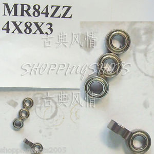 high temperature 1pc MR84 MR84Z Miniature Bearings ball Mini bearing 4X8X3 mm 4*8*3 MR84zz ZZ 2Z
