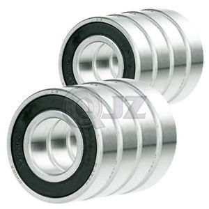 high temperature 8x SS1641-2RS Ball Bearing 2in x 1in x 0.5625in Stainless Steel QJZ Rubber Seal
