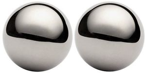 """high temperature Two 3/4"""" 316 stainless steel bearing balls"""