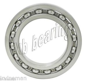 high temperature S6805 Bearing 25x37x7 Stainless Steel Open Ball Bearings 16638
