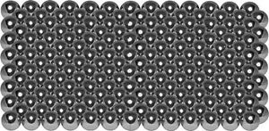 """high temperature 200  1/2""""  302 stainless steel bearing balls 3-3/4 lbs"""