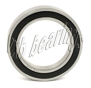 high temperature S6802-2RS Ceramic Bearing 15x24x5 Si3N4 Stainless Steel Sealed Premium 7657