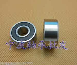 high temperature 2 pcs 62002 RS Deep Groove Ball Bearing 15x32x11 15*32*11 mm bearings 62002RS