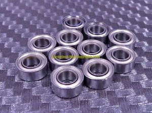 high temperature 440C Stainless Steel Ball Bearing Bearings S693ZZ 693ZZ (3x8x4 mm) [5 PCS]