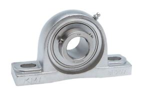 """high temperature KML 1-1/8"""" SSUCP206-18 Stainless Steel Bearing"""