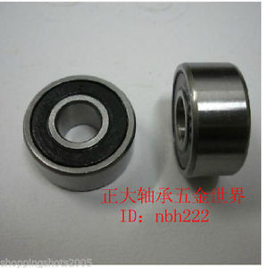 high temperature 2 pcs 62303 RS Deep Groove Ball Bearing 17X47x19 17*47*19 mm bearings 62303RS
