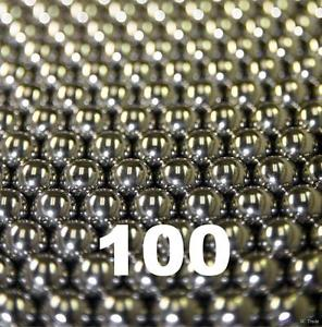 """high temperature 100 3/32"""" Inch G25 Precision 440 Stainless Steel Bearing Balls"""