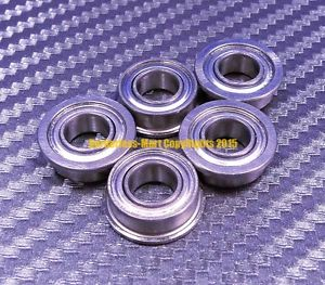 high temperature [QTY 5] SF607zz F607zz (7x19x6 mm) 440c Stainless Steel FLANGED Ball Bearing