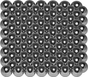 """high temperature 102  5/8"""" 302 stainless steel bearing balls 3-3/4 lbs"""